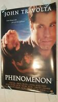 Phenomenon  movie poster - John Travolta - original 1996 poster