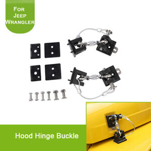 for Jeep Wrangler TJ 1997-2006 Hood Latch Locking Catch Buckle Car Accessories
