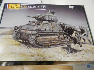 Heller 1/35 scale model kit Somua S35