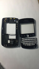 Front Housing Chessis Bazel With Lens For Blackberry 9360 Curve Black