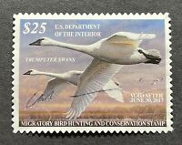 WTDstamps - #RW83 2016 - US Federal Duck Stamp - NG - Signed with bends