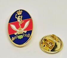 Queens Gurkha Signals enamel Military MOD Licensed lapel pin badge