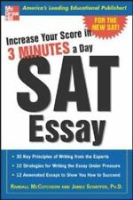 Increase Your Score in 3 Minutes a Day: SAT Essay Book BRAND NEW