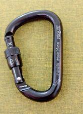 Rock Exotica PIRATE Carabiner SCREW lock NEW Climbing Rigging Rescue TACTICAL NU