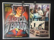 1985 Narco Terror Eduardo Yanez Original Mexican Movie Lobby Card -A303