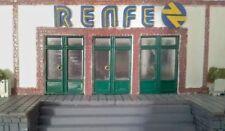Cartel logotipo RENFE estacion H0/1:87 no roco no electrotren no ibertren