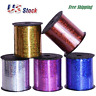 500 Yards Curling Ribbon Shiny Metallic Balloon String Roll Gift Wrapping
