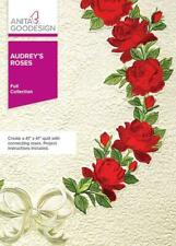 Audrey's Roses Anita Goodesign Embroidery Machine Design Cd New 58Aghd