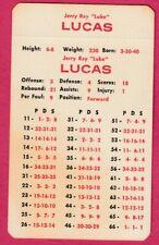 APBA Jerry Ray Lucas Game Card