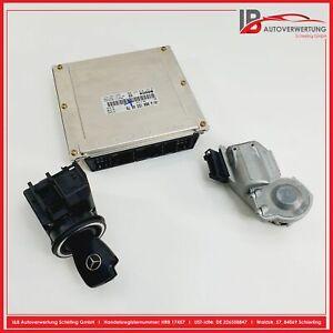 MERCEDES BENZ W210 E220 CDI motorsteuergerät SATZ A0001534879 2105450208 BOSCH