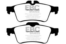 EBC Yellowstuff Rear Brake Pads for Ford Focus C-Max 2.0 (2005 > 07)