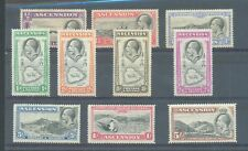 Ascension 1934 sg.21-30 MH set of 10