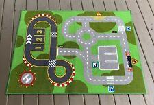 Ikea Lillabo Kids Road City,racetrack, heliport Toy Floor Mat Play Rug 52X40