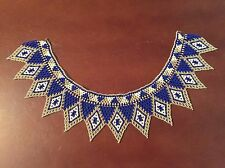 Beaded collar necklace, Never Worn