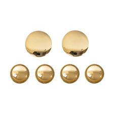 Army Cuff Link and Shirt Stud set: 22K Gold Plated (Made in Usa)