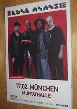 Skunk Anansie Tourplakat/Tourposter 2017 - neu - Muffathalle München