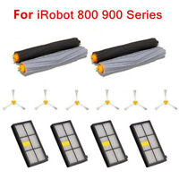 Side Brush Filter Extractor Brush Kit For Irobot Roomba 800 870 880 Accessories