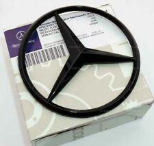 Mercedes Benz C Class W205 2014+ Gloss Black Rear Boot Badge Star A2058174500