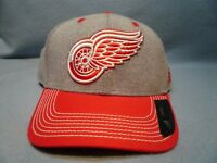 Adidas Detroit Red Wings Heather Line Change BRAND NEW Snapback hat cap