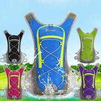 Sport Vest Backpack Hydration Pack Jogging Cycling Running Bag+2L Water Bladder