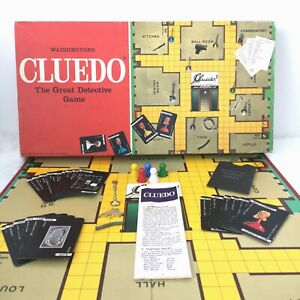 Vintage 1975 CLUEDO Waddingtons SPARE PARTS Pieces *CHOOSE FROM DROP DOWN BOX*