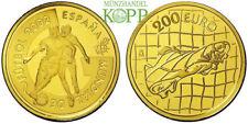 R859) SPANIEN 200 Euro 2002 - Fußball-Weltmeisterschaft Südkorea/Japan - Gold