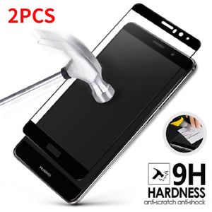 2PCS For Huawei Mate 9 Mate9 Full Cover Tempered Glass Film Screen Protector