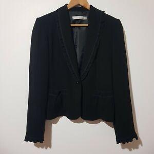 Basque Size 10 Black Corporate Work Jacket