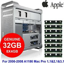 32GB Kit (8x4GB) DDR2 Genuine Apple Memory for 2006-2008 Mac Pro 1,1 - 3,1 A1186