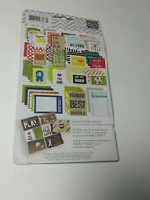Me And My Big Ideas Pocket Pages Themed Cards Sports Theme
