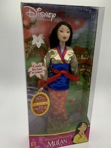 MULAN Disney Princess Blossom Beauty MULAN Mattel 2004 Barbie Doll