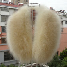 Fashion Men&Women Real Siver Fox Fur Collar Scarf/Shawl/Wrap/Cape 17 Colors