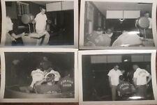 1955 Austin Texas bowling league photo collection, 30 b&w bowling photos