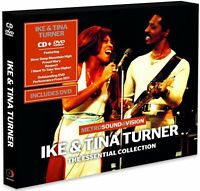 Ike & Tina Turner Essential Collection live In 1971 CD & DVD River Deep + more
