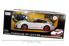 "R/C RC Radio Control Porsche 911 GT3 RS 1/14 WHITE 14"" LONG (BATTERIES INCLUDED)"
