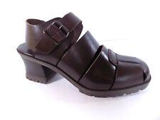 6fb9ae244d1 MIA Vintage Chunky Retro Platform Sandals Womens 8.5 M Brown Leather