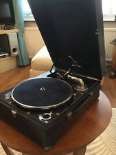 Columbia 206/HMV 102 Gramophone In Blue