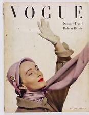 LEE MILLER Erwin Blumenfeld Lanvin SCHIAPARELLI Balmain VOGUE magazine May 1949