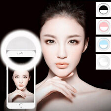 Portable Selfie LED Camera Ring Flash Fill Light Beauty For IPhone Mobile Phone
