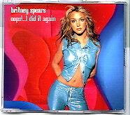 Britney Spears - Oops!... I Did It Again - Scarce UK 3trk CD
