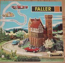 Faller  -- Modellbau Jahres Katalog  1964/65, Sprache Niederländisch !