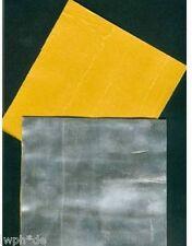 universelle Walzblei Bleifolie Platten 10 Stück 11 x 11cm x 1 mm selbstklebend