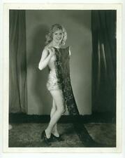 RARE MACK SENNETT BEAUTY ORIGINAL PHOTO THELMA DANIELS SEXY NUDE 1920s