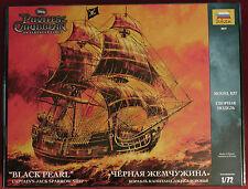 ZVEZDA 9037 Plastic Model Kit 1/72 Black Pearl Captains Jack Sparrow Ship Disney