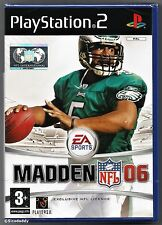 PS2 Madden NFL 06, UK Pal, Brand New & Sony Factory Sealed