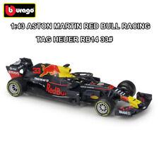 1:43 ASTON MARTIN RED BULL RACING TAG HEUER RB14 33# FORMULA F1 DIE-CAST MODEL