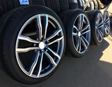 """New 4x 21"""" INCH alloy wheels for BMW X5 E70 F15 X6 F16, 612 style + summer tyres"""