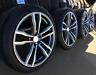 """Nuovo 4x 21 """" Pollici Cerchi per BMW X5 E70 F15 X6 F16 + Estate Gomme + Rdcs"""