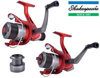 Shakespeare Omni Spinning Reels FD + RD Coarse Game Carp w/ Spare Spool