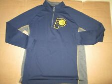 Mens Nba Indiana Pacers athletic quarter zip shirt 2Xl Xxl